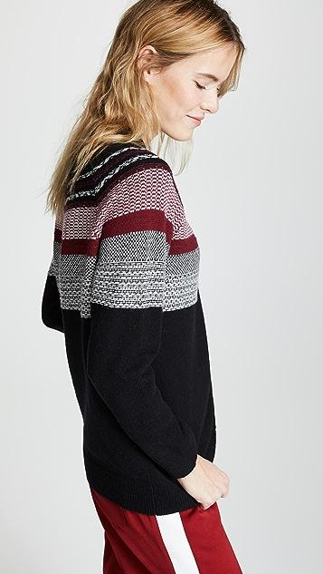 ATM Anthony Thomas Melillo Fairisle Crew Sweater