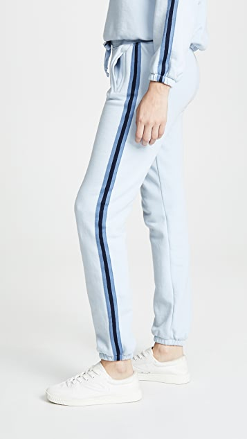 ATM Anthony Thomas Melillo Sweatpants with Stripes