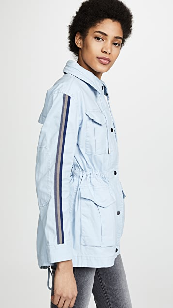 ATM Anthony Thomas Melillo Field Jacket with Stripe