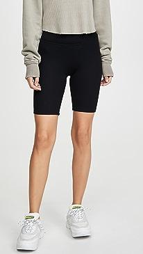 Ribbed Bike Shorts