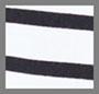 черный/белая полоска