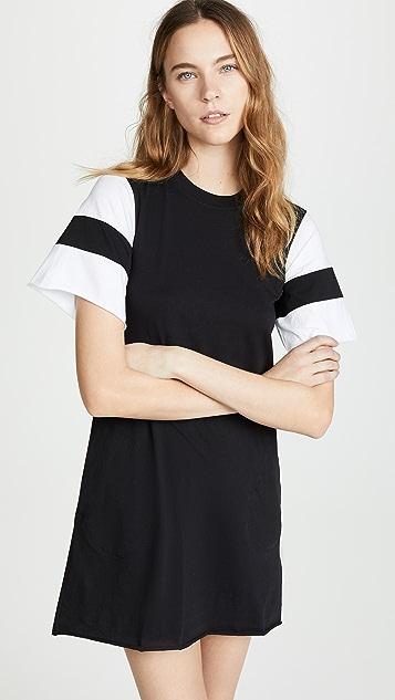 ATM Anthony Thomas Melillo Short Sleeve Dress - Black