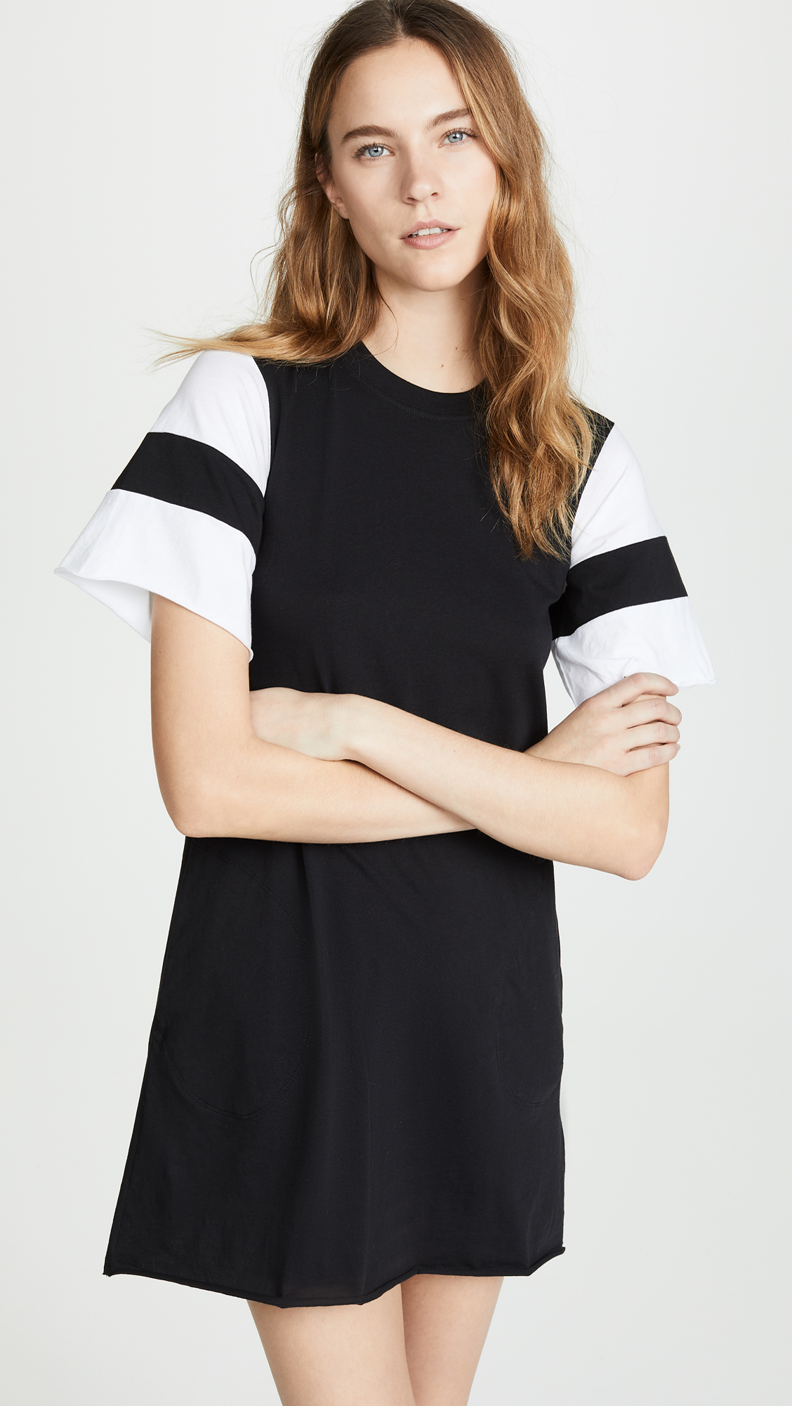 ATM Anthony Thomas Melillo Short Sleeve Dress