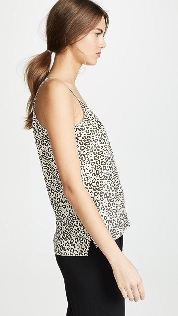 ATM Anthony Thomas Melillo Lunar Leopard Silk Cami