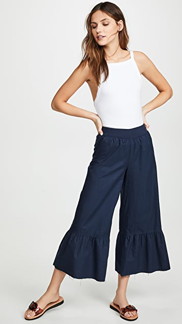 ATM Anthony Thomas Melillo Wide Leg Pants