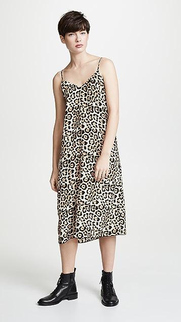 ATM Anthony Thomas Melillo Leopard Cami Dress