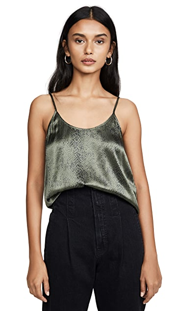 ATM Anthony Thomas Melillo Silk Snake Printed Cami