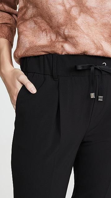 ATM Anthony Thomas Melillo Micro Twill Pull On Pants