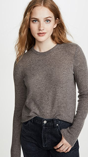ATM Anthony Thomas Melillo Cashmere Crew Sweater