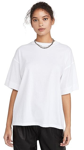 ATM Anthony Thomas Melillo 经典平纹针织加大 T 恤