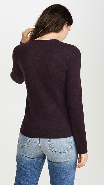 ATM Anthony Thomas Melillo Кашемировый свитер с округлым вырезом