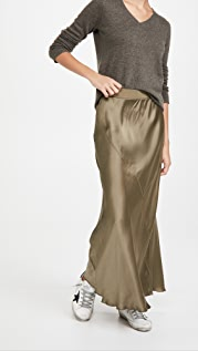 ATM Anthony Thomas Melillo Silk Ankle Length Skirt