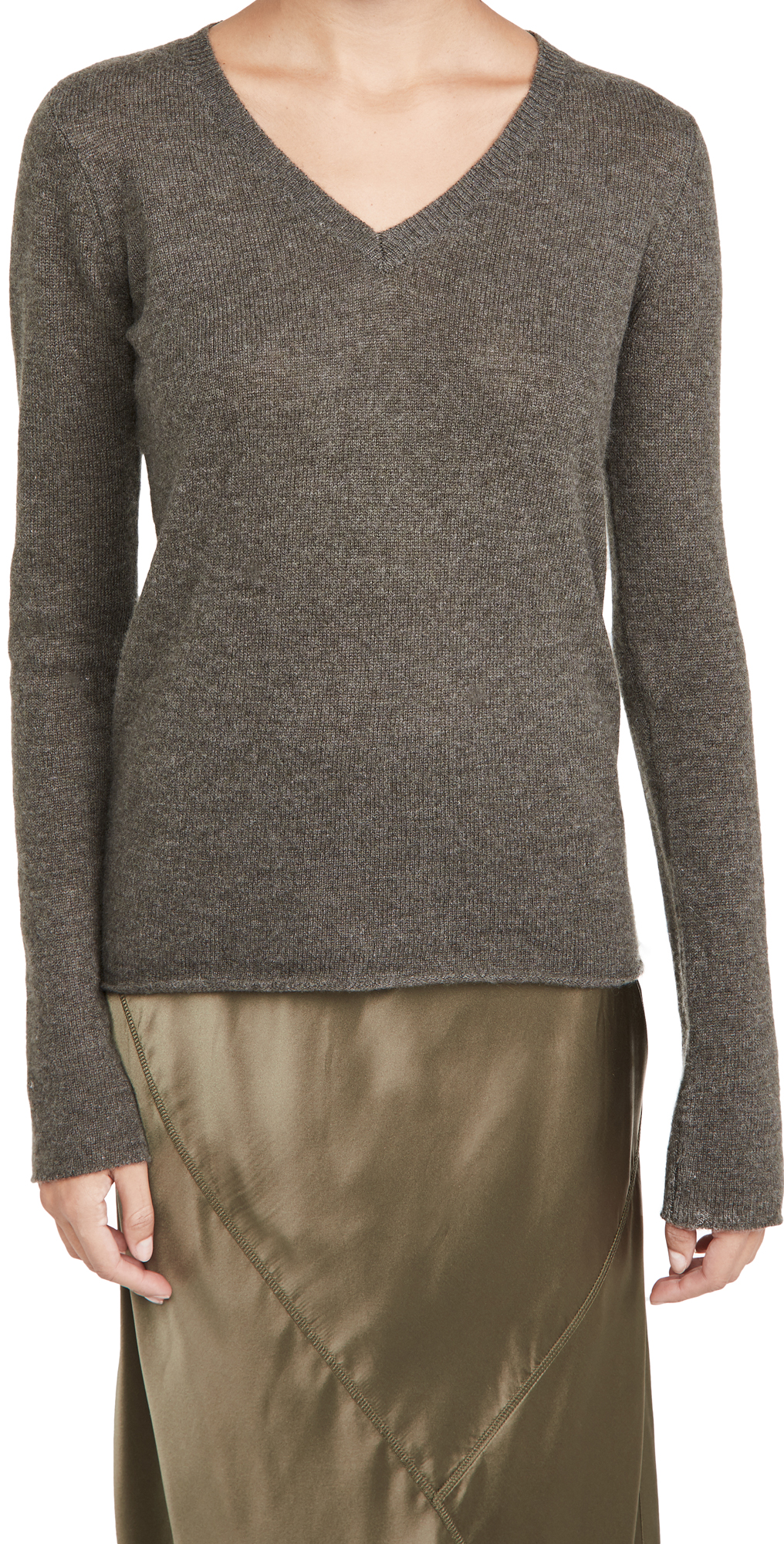 ATM Anthony Thomas Melillo Cashmere V Neck Sweater