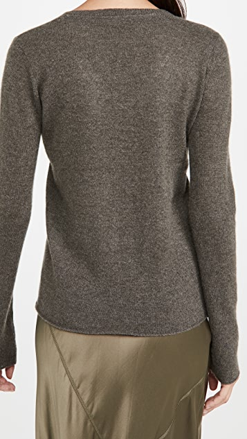 ATM Anthony Thomas Melillo Cashmere V Neck Sweater