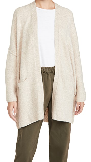 ATM Anthony Thomas Melillo Wool Blend Sweater Coat