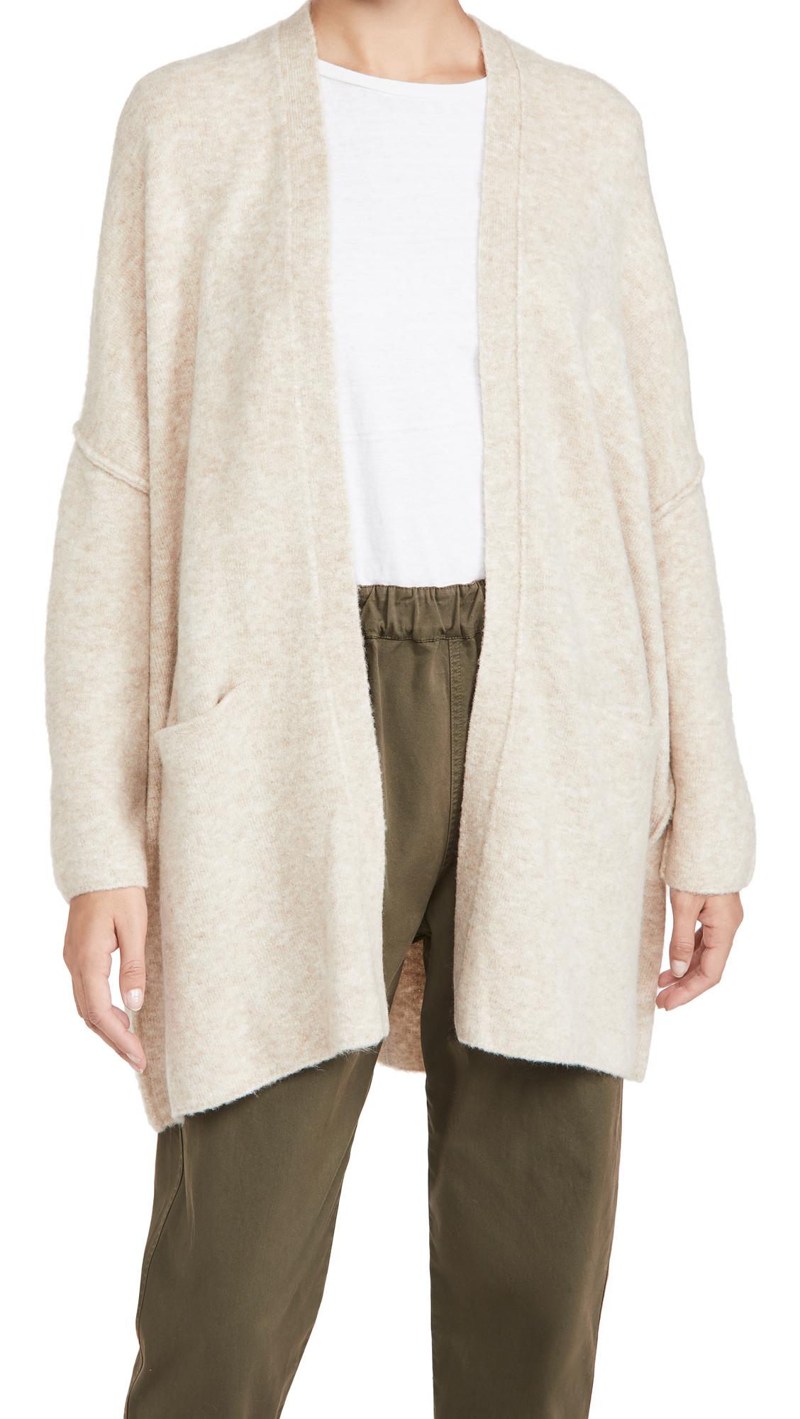 ATM Anthony Thomas Melillo Wool Blend Sweater Coat
