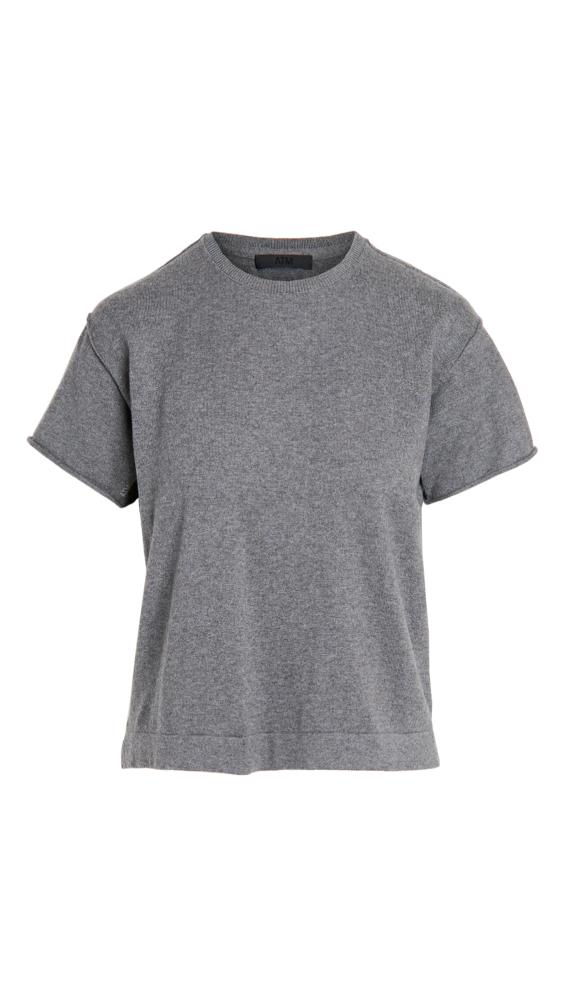ATM Anthony Thomas Melillo Cotton Cashmere Sweater Tee