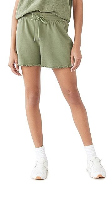ATM Anthony Thomas Melillo French Terry Pull On Shorts