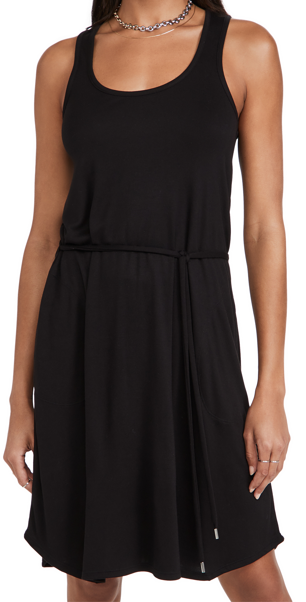ATM Anthony Thomas Melillo Modal Interlock Tank Dress