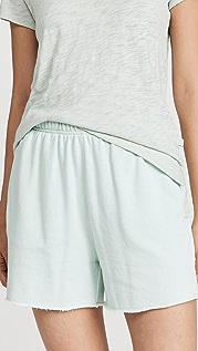 ATM Anthony Thomas Melillo 法式毛圈布弹性短裤