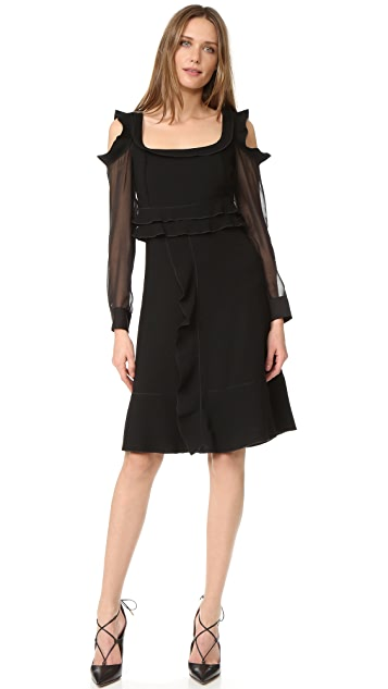 Amelia Toro Long Sleeve Dress