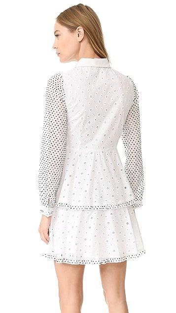 Amelia Toro Swiss Cotton Eyelet Dress