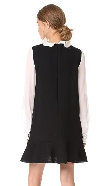 Amelia Toro Ruffled Mini Dress