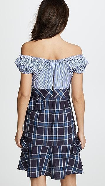 Amelia Toro OTS Ruffle Dress