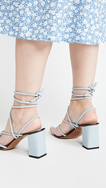 ATP Atelier Andria Lace Up Wrap Sandals