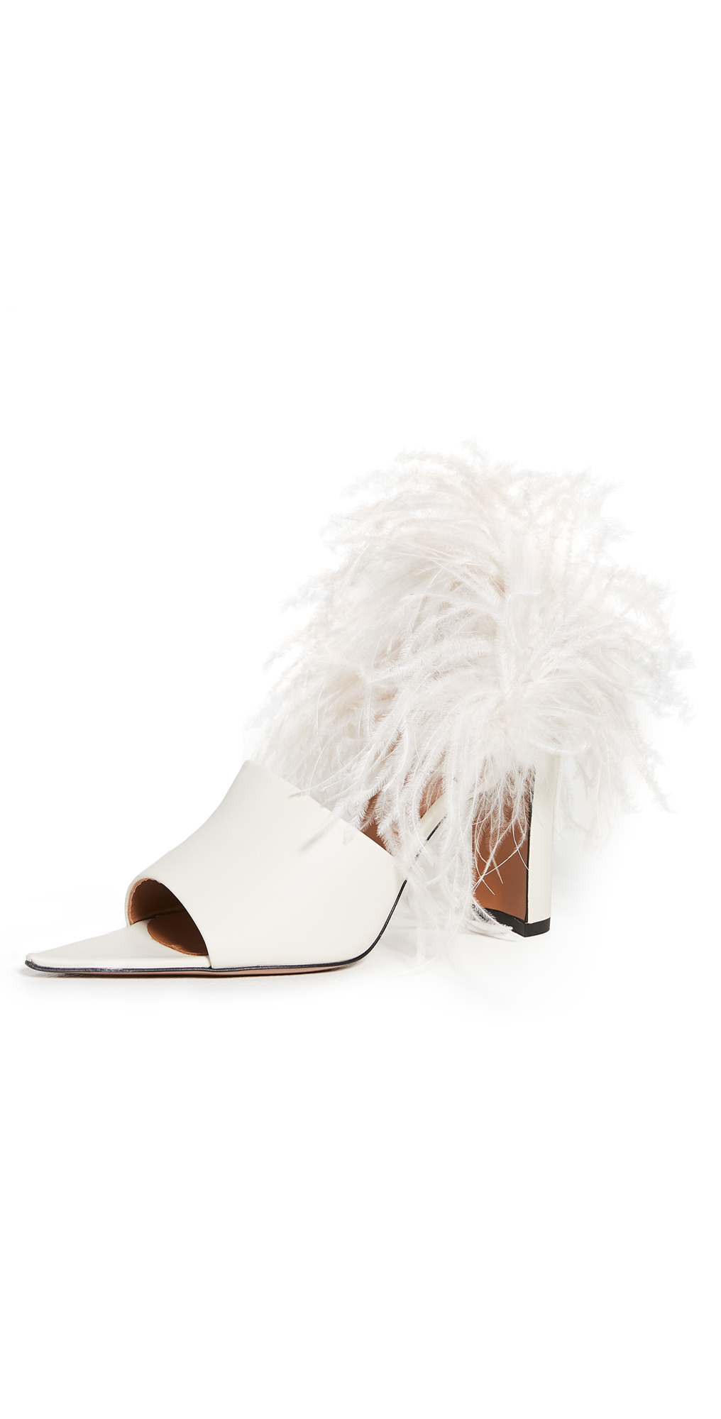 ATP Atelier Palagiano Feather Pumps