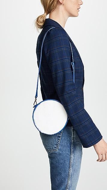 Avec La Troupe Mink Tambourine Mini Bag