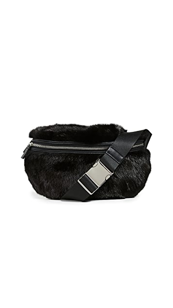 Avec La Troupe Mink Major Belt Bag