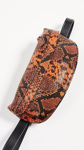 Avec La Troupe Troupe Belt Bag - Carrot Python