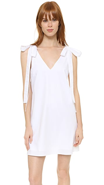 Amanda Uprichard Bow Tank Dress