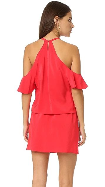 Amanda Uprichard Celia Cold Shoulder Dress