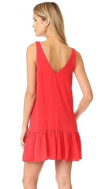 Amanda Uprichard Carrie Georgette Dress