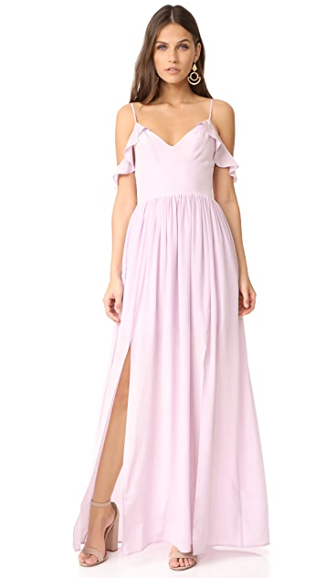 Amanda Uprichard Wren Maxi Dress