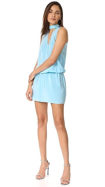 Amanda Uprichard Sleeveless Amaretto Dress