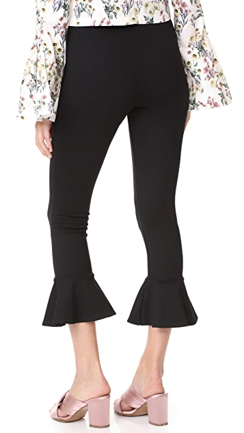 Amanda Uprichard Flare Leggings