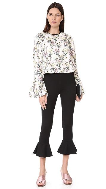 Amanda Uprichard Flare Leggings
