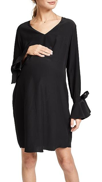 Amanda Uprichard Liberty Maternity Dress