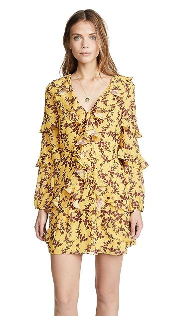 Amanda Uprichard Ruffle Dress