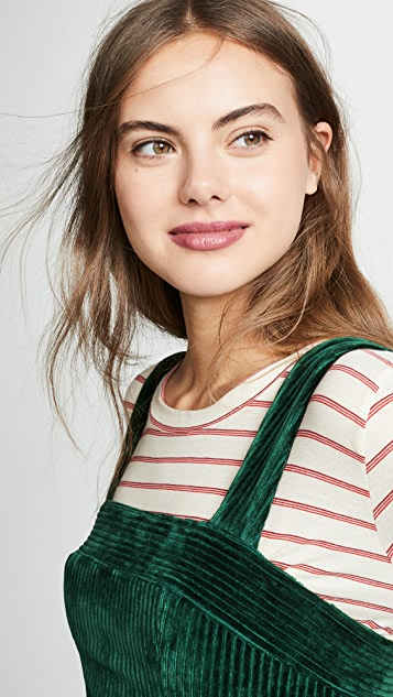 Amanda Uprichard Corduroy Jumper Dress