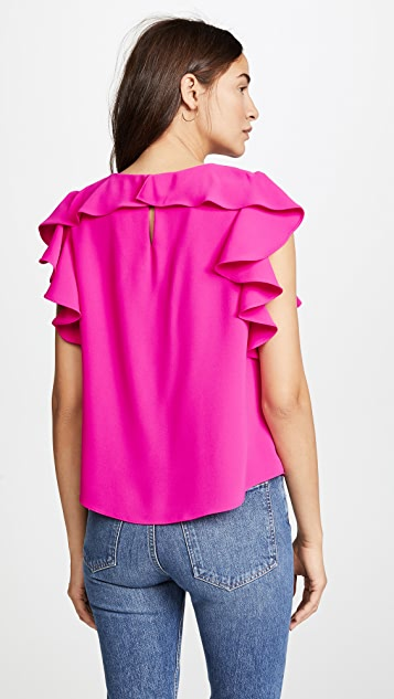 Amanda Uprichard Colette Top