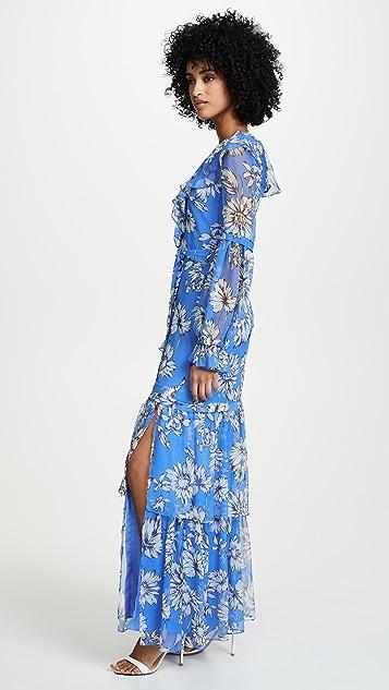 Amanda Uprichard Janelle Maxi Dress