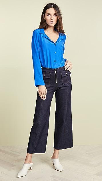 Amanda Uprichard Tamsin Thong Bodysuit