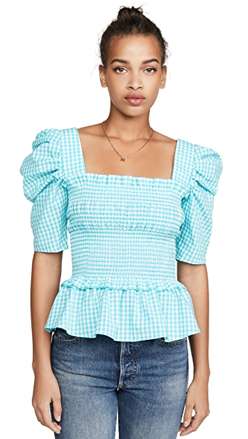Amanda Uprichard Marisol Top