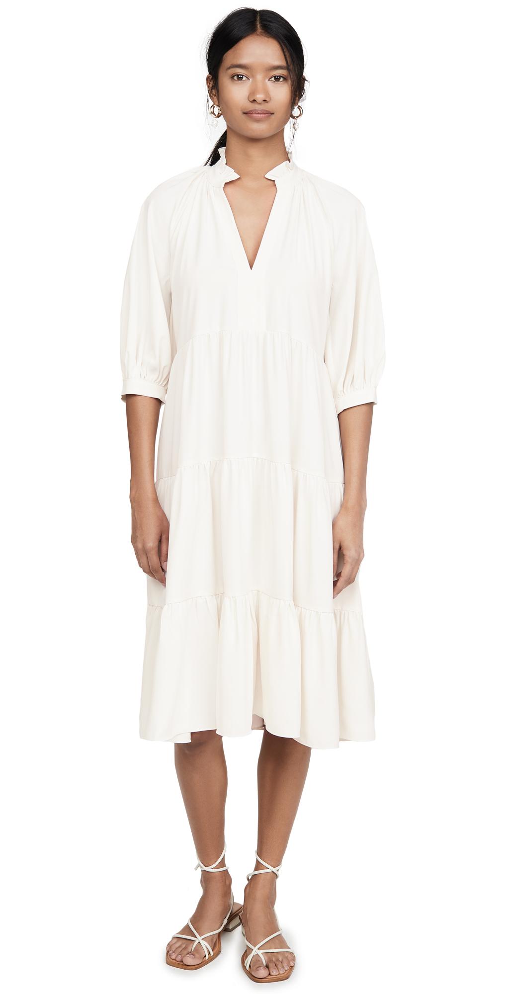 Amanda Uprichard Saffron Midi Dress