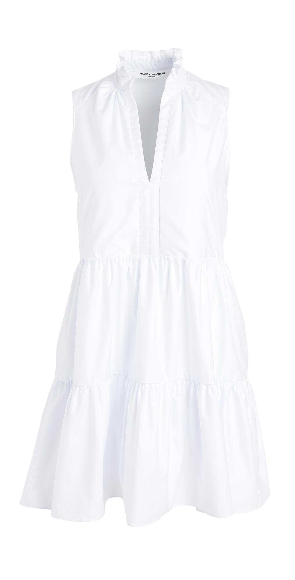 Sleeveless Saffron Dress