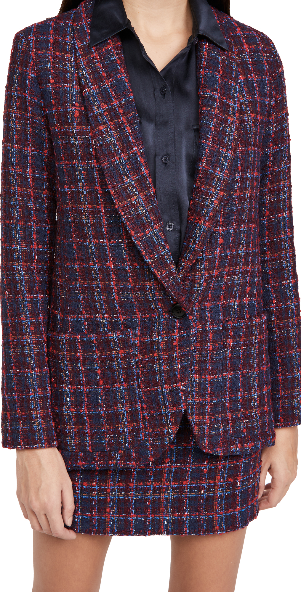 Amanda Uprichard Shawl Collar Blazer